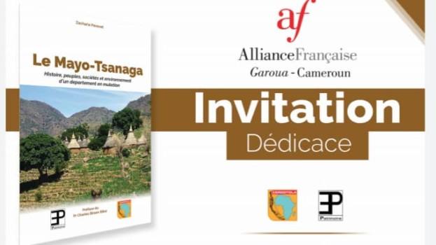 Dédicace du livre Mayo-Tsanaga à l'Alliance Française de Garoua, le 16 novembre 2019