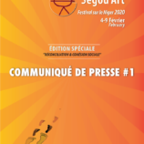 COMMUNIQUE DE PRESSE #1 | SEGOU' ART – FESTIVAL SUR LE NIGER 2020
