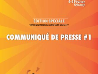 COMMUNIQUE DE PRESSE #1   SEGOU' ART – FESTIVAL SUR LE NIGER 2020