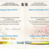 CERDOTOLA : MEILLEURS VŒUX 2020 – SEASON'S GREETINGS 2020