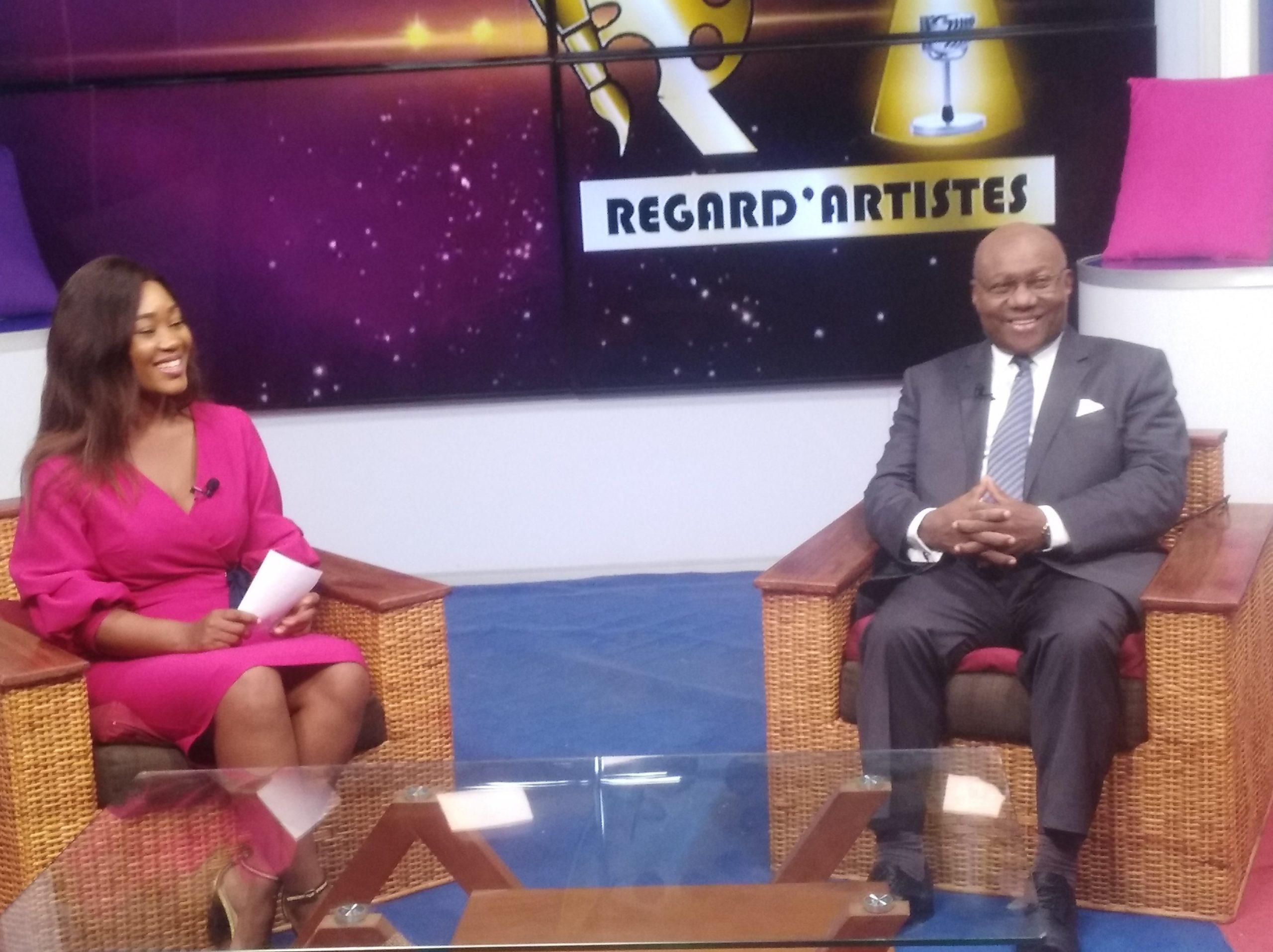 Pr Charles Binam Bikoi, invité de Regard ' Artistes  sur Vision 4 Télévision