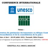Conférence Internationale : le CERDOTOLA, l'IFLA et l'UNESCO mettent en débat la conservation du patrimoine documentaire dans les zones en conflits en Afrique centrale