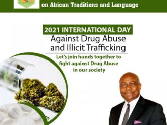 CERDOTOLA Executive Secretary urges Nations in Africa to brace up to the fight against drug abuse, trafficking